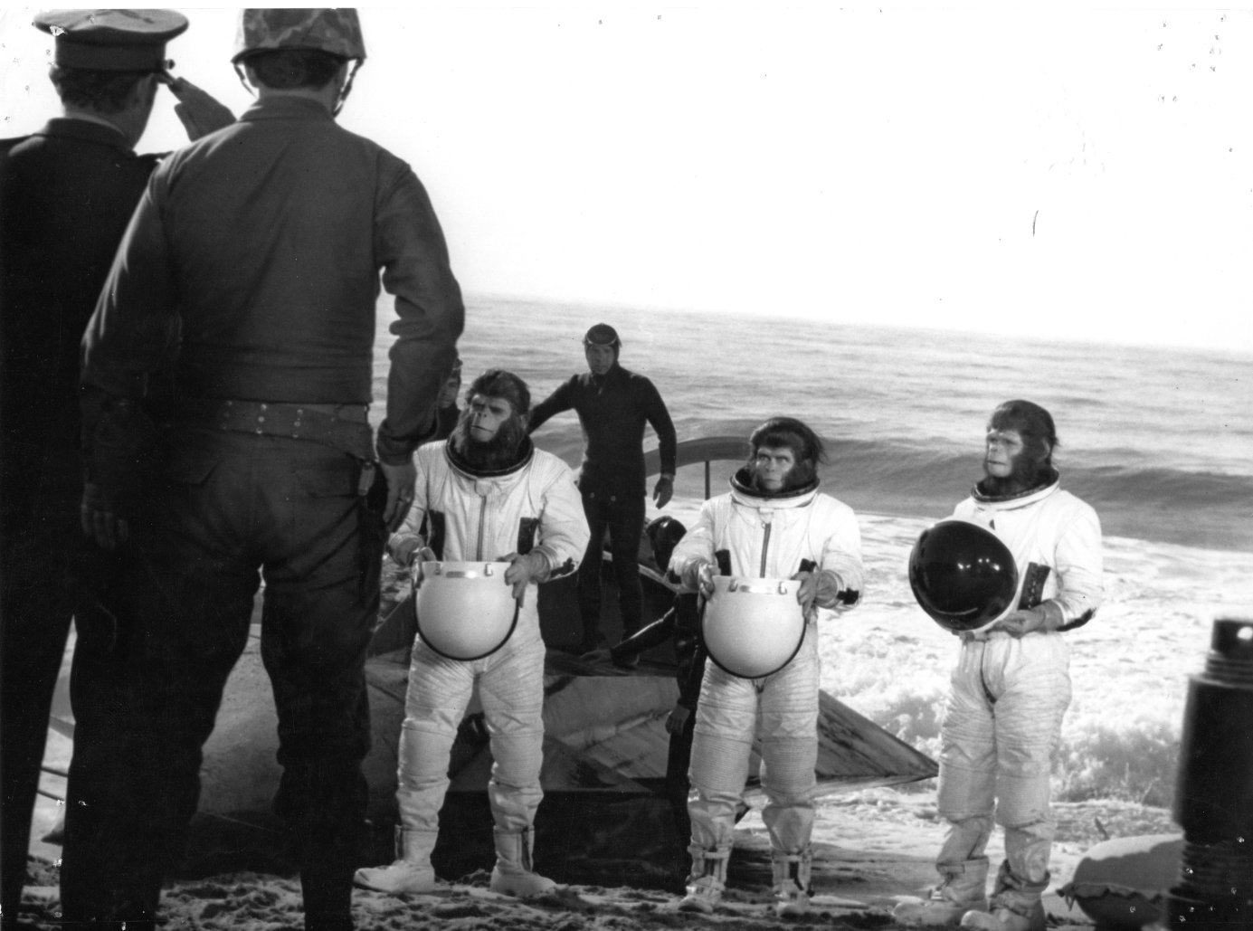 ESCAPE From the Planet of the Apes space suits