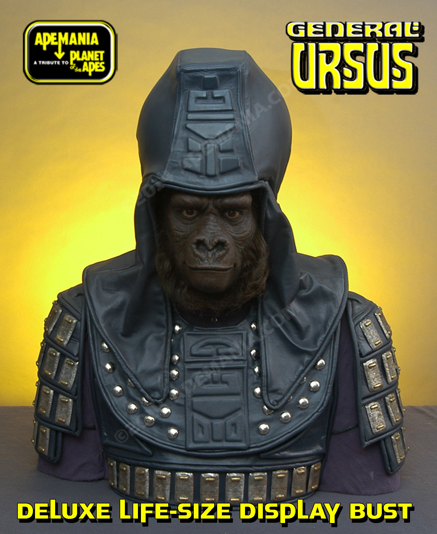 General Ursus BustPlanet of the ApesHammered Iron