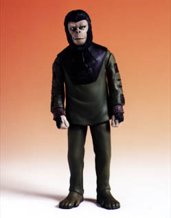 Planet of the Apes POTA Soldier Ape Action Figure ~ Medicom